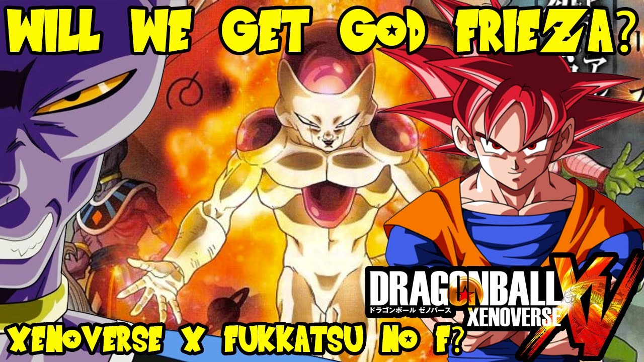 God vs God Dragon Ball Dragon Ball Xenoverse God