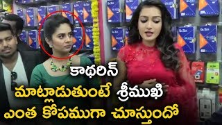 Catherine Tresa Speech At B New Mobile Store Launches At Guntur