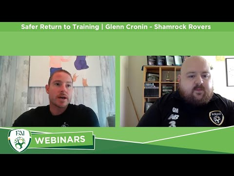 Safer Return to Training | Glenn Cronin (Shamrock Rovers)
