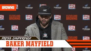 Baker Mayfield Says Team Played Hard Against Baltimore | Cleveland Browns