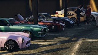 GTA 5 Online Executives And Other Criminals DLC Car Meet