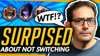 "Overwatch   The Community Surprised Jeff Kaplan - Hero Switching + ""411 Mode"""