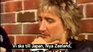 Rod Stewart - [Short] Interview 1980 - Sweden