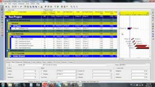 13. Reports, Cash flow and Manpower histogram from primavera 6 P6.mp4