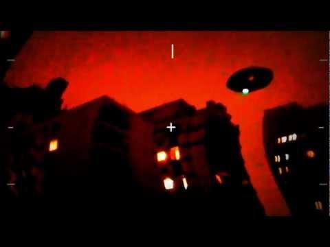CENSORED - DARK UFO NYC (Sandy Hurricane) Alien Observer - USA Vortex 2012