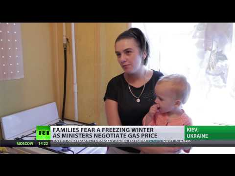Ukraine families fear freezing winter as MPs negotiate gas price