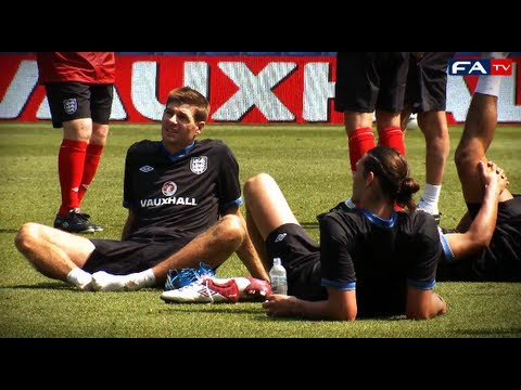 England Training Session - 24/05/12 - England v Norway | FATV
