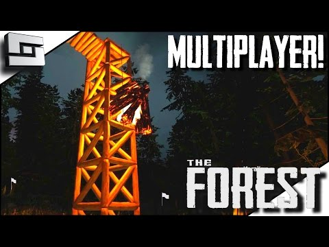The Forest Multiplayer - SIGNAL FIRE! E32 ( Gameplay )