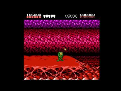 Misc Computer Games - Battletoads In Battlemaniacs - Bonus Level 1