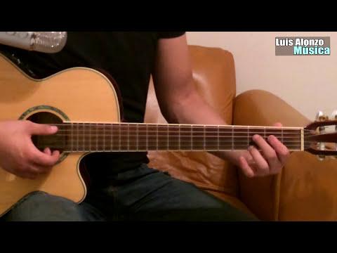 Como tocar guitarra - Aprende Arpegios, técnicas, tips en canciones romanticas (HD)