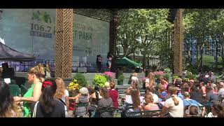 Tootsie - Broadway in Bryant Park - Binaural 3D Audio
