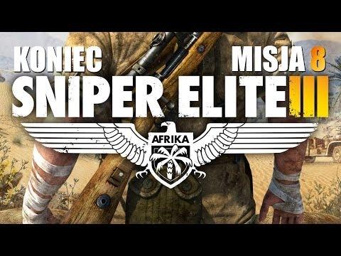 #8 Zagrajmy W Sniper Elite 3: Afrika - Koniec Gry/Zakończenie - Polski Gameplay