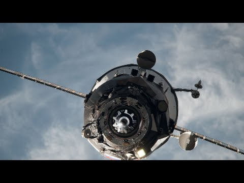 Russia's spinning cargo capsule for space station total loss.. April 2015 HD