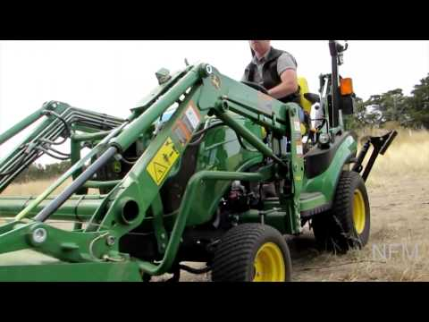 REVIEW: John Deere 1025R sub-compact utility tractor