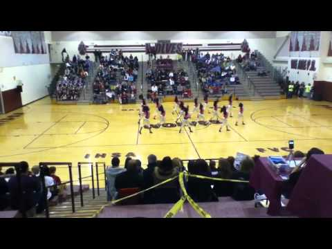 Waukegan Poms at competition