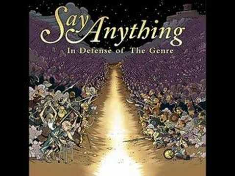 Say Anything - Surgically Removing The Tracking Device
