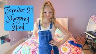 Forever 21 Shopping Haul and Try On. WOW 6 outfits for $35 an outift!!