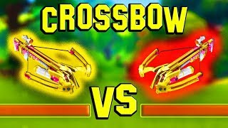 CROSSBOW vs CROSSBOW! *NEW* Weapon Gameplay! (Fortnite Battle Royale)