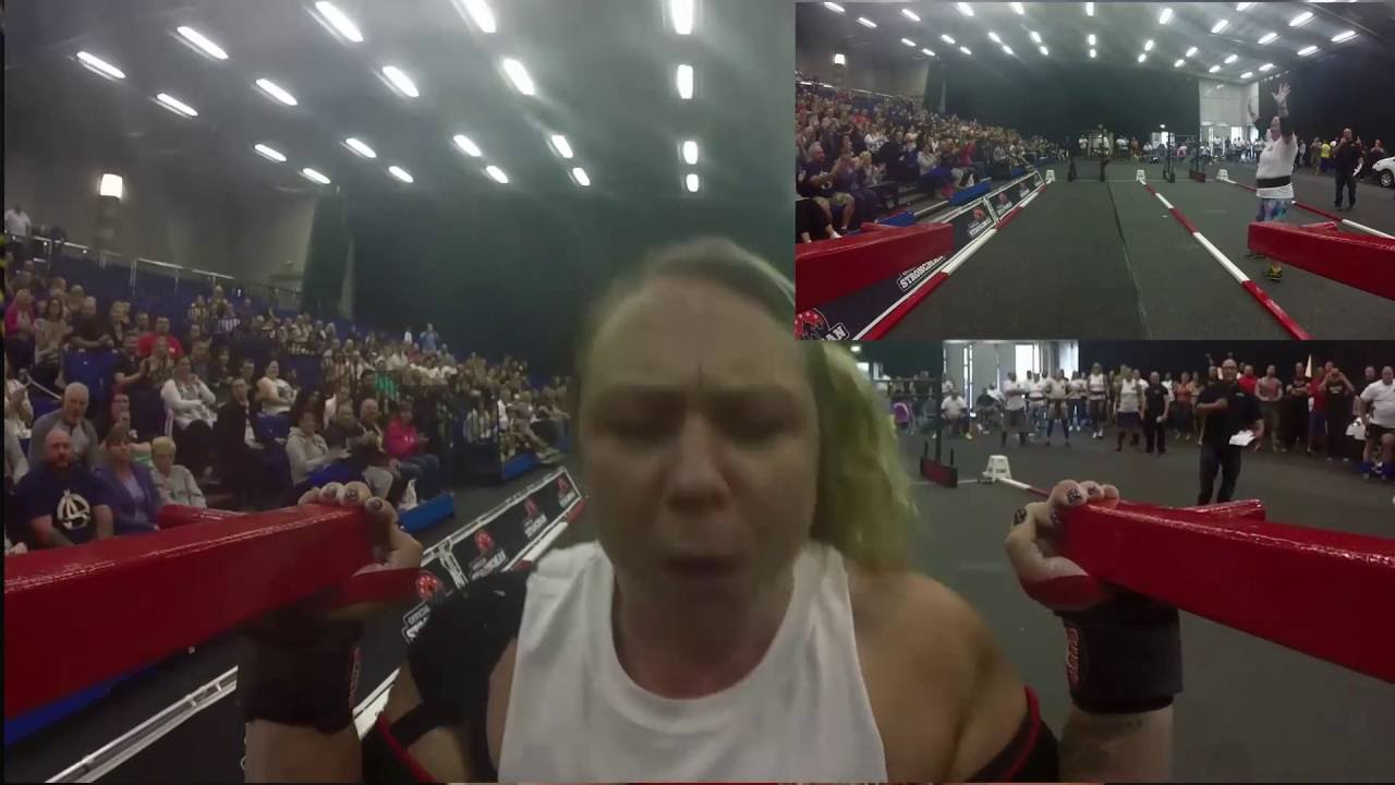The World's Strongest Woman Donna Moore.