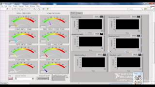 labview REFRIGERATION PLANT FAULT SIMULATOR