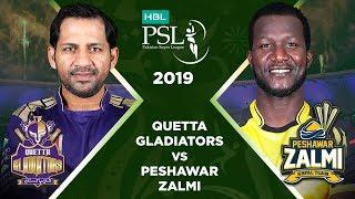 Match 3: Full Match Highlights Quetta Gladiators vs Peshawar Zalmi   HBL PSL 4   2019