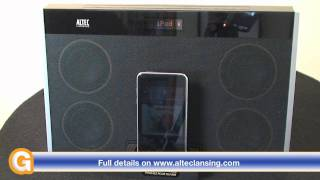Altec Lansing inMotion MAX iPod & iPhone Speaker System Review