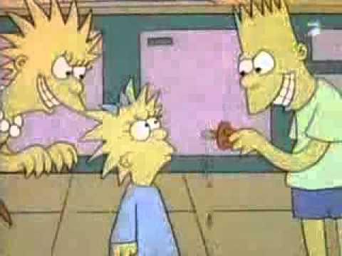 Самая первая серия Симпсоны
