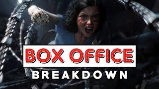 Box Office Breakdown: Alita Battles Her Way To The Top