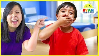 Why Do We Yawn??  | Educational Video for kids with Ryan ToysReview