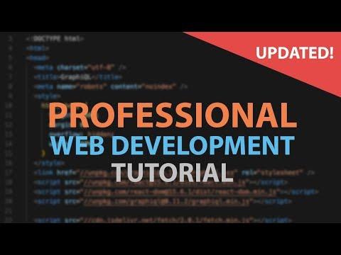 Web Development Tutorial For Beginners 2018 / 2019 - how to make a website
