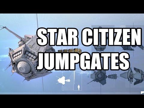 Star Citizen MobiGlas, Jumpgate, ArcCorp Footage PAX South