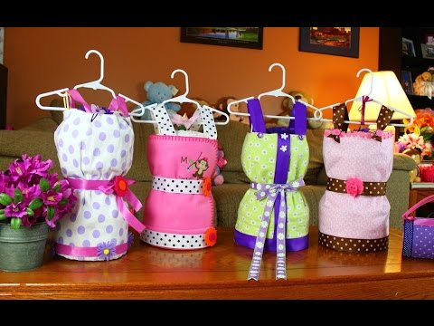 Dress Diaper Cake How To Make Youtube
