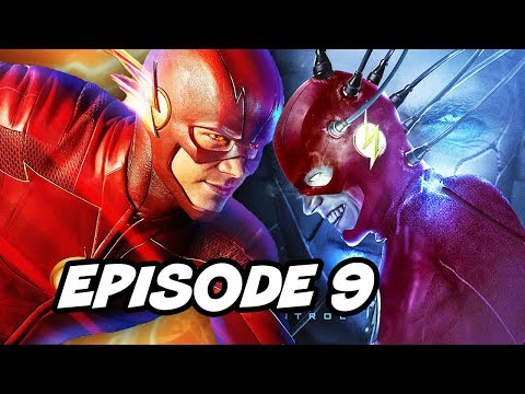 The Flash Season 4 Episode 9 - Flash vs Thinker TOP 10 WTF and Easter Eggs thumbnail
