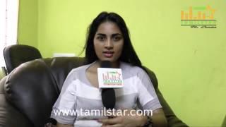 Srushti Dange At Kaththukkutti  Movie Team Interview