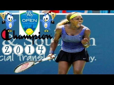 Serena Williams vs Ana Ivanovic Cincinnati*Final*Highlights-2014