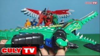 siêu nhân Robot biến hình Gao cá sấu siêu thú lắp ráp đồ chơi   Transformer Gao hunter toy for kid