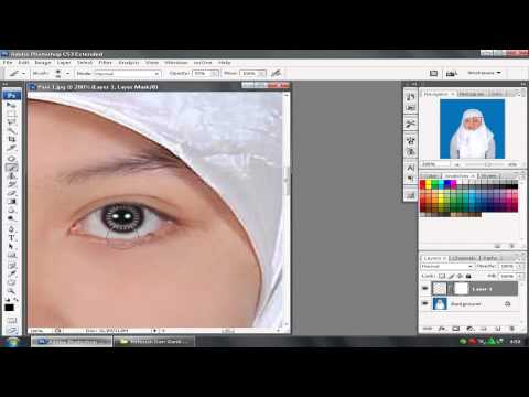 tutorial photoshop cs3 bahasa indonesia menghaluskan wajah dan menambah soft lens