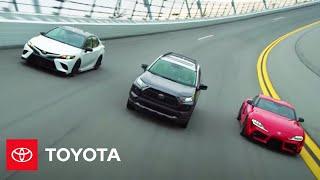 Team Toyota Takes Over Daytona   Toyota