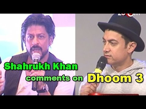 Dhoom 3 :Shahrukh Khan comments on Aamir Khans movie