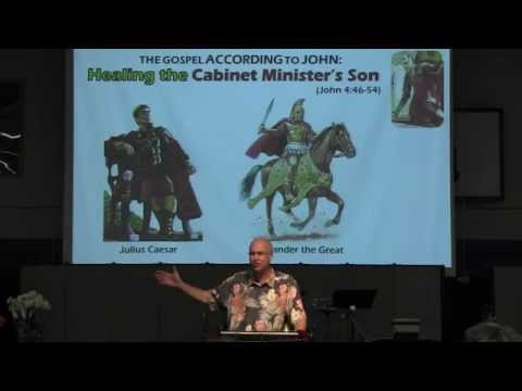 2014-07-20 Healing the Cabinet Minister's Son (John 4:46-54)