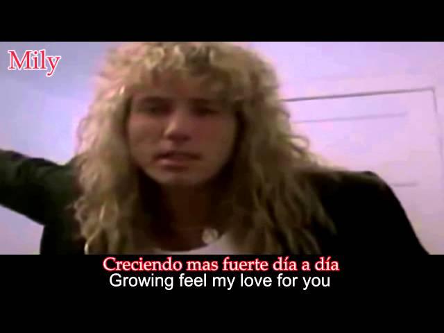 Whitesnake - Is This Love Subtitulado Español Ingles