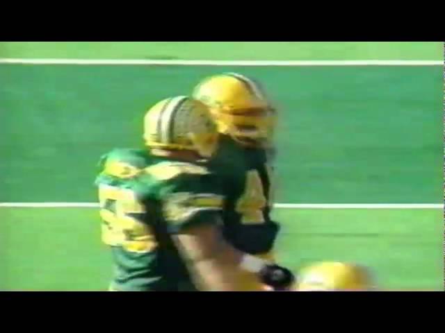 Oregon LB Jeremy Asher sacks ASU QB Jake Plummer 11-05-1994
