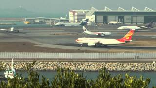 Air Traffic Control Communications Hong Kong Airport VHHH part 2