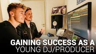 How To Gain SUCCESS as a young Producer/DJ with Ellis!