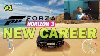 Im Way Better at Racing Than Football!! | Forza Horizon 3 Gameplay with Steering Wheel