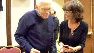 Tom Atkins & Adrienne Barbeau playing catch up @ Horrorhound  (November 16-18, 2012)