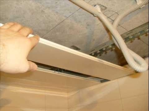 Как смонтировать подвесной потолок своими руками