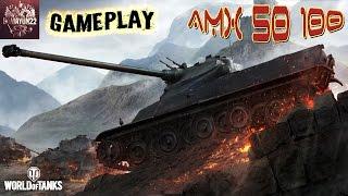 World of Tanks | Геймплей -TT AMX 50 100 | Забытый Француз