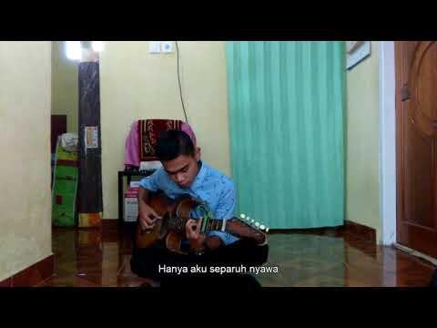 (slam) Gerimis Mengundang - Wahyu Finger Style Guitar Cover