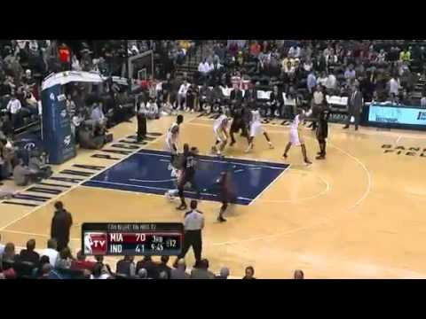 NBA CIRCLE - Miami Heat Vs Indiana Pacers Highlights Feb 14, 2012 Game Recap